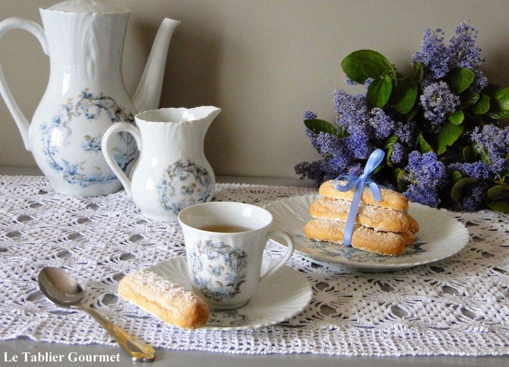 """""""A perfect tea time"""" grâce aux biscuits à la cuillère d'Olivier Bajard !"""
