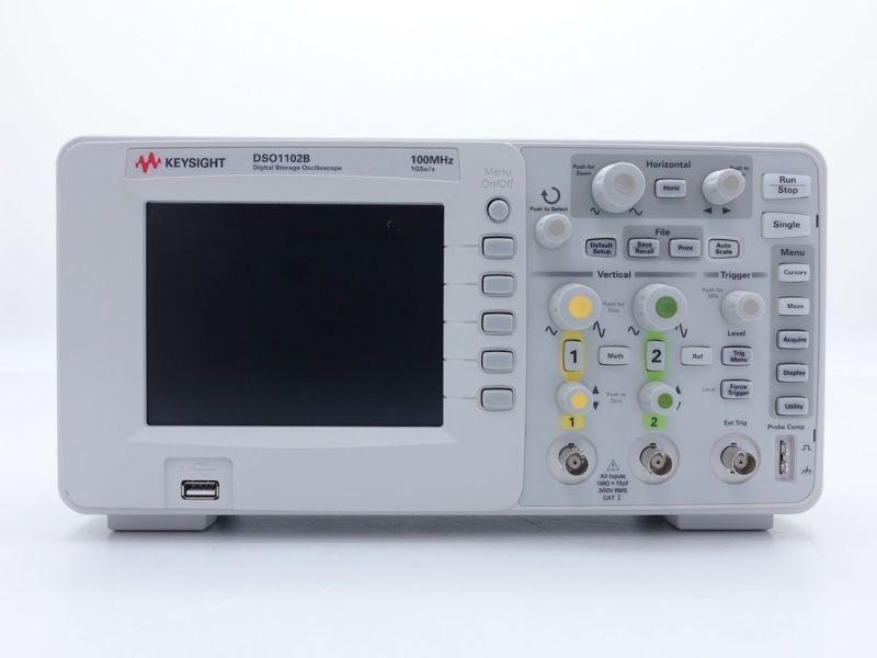 Keysight Used Dso1102b 1000 Series Oscilloscope 2 Ch 100 Mhz Agilent Agilent Oscilloscope Series Used Keysight Ebay Analog Technology