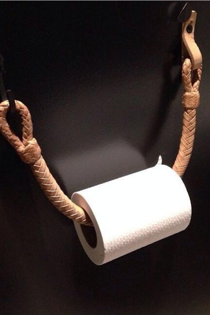 Art Paper Roll Dispenser Wall Mounted Diy Toilet Paper Holder Diy Toilet Toilet Roll Holder