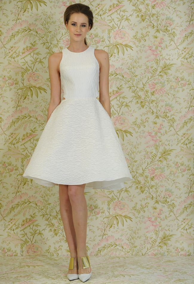 Angel Sanchez Spring 2015 Wedding Dresses | Casual bride, Angel ...