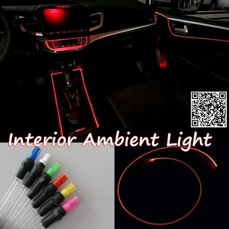 For Honda City 2015 Car Interior Ambient Light Panel Illumination