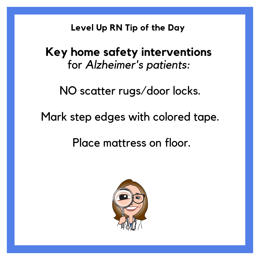 Astounding Home Safety Interventions For Alzheimers Patients Tip Of Beutiful Home Inspiration Truamahrainfo