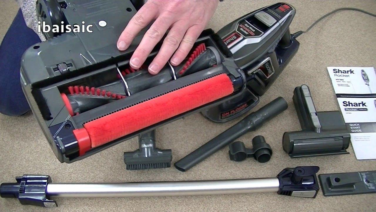 Shark Rocket Duo Clean Vacuum Cleaner Demonstration