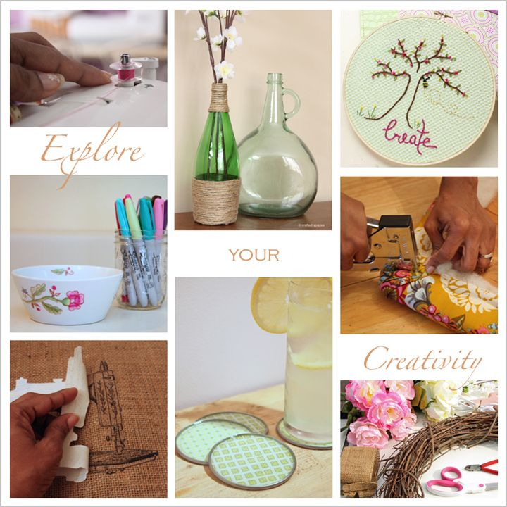 Crafted Spaces Sewing, DIY and Crafts!