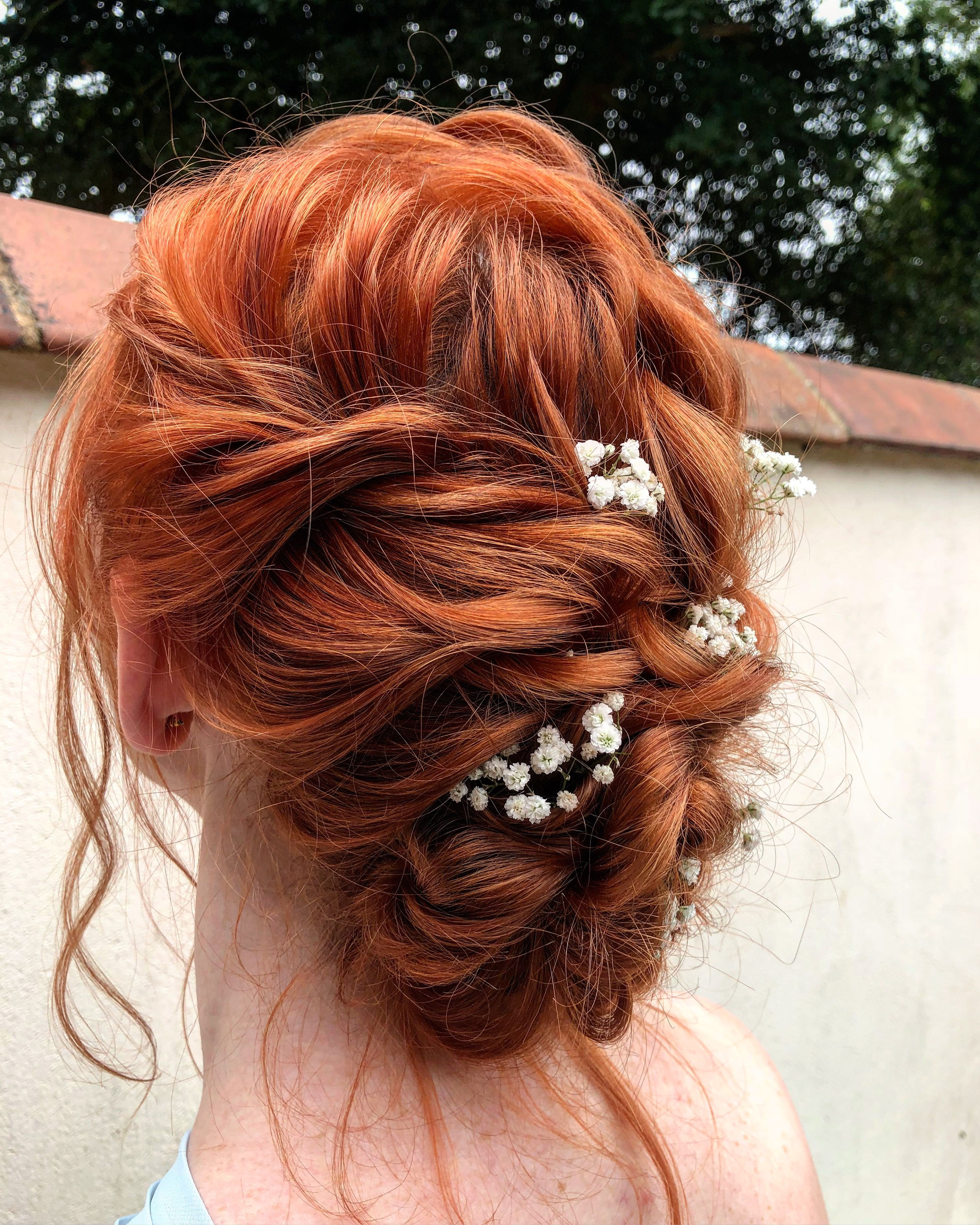 www.theupdogirl #theupdogirl #updo #hairstyle #redhead