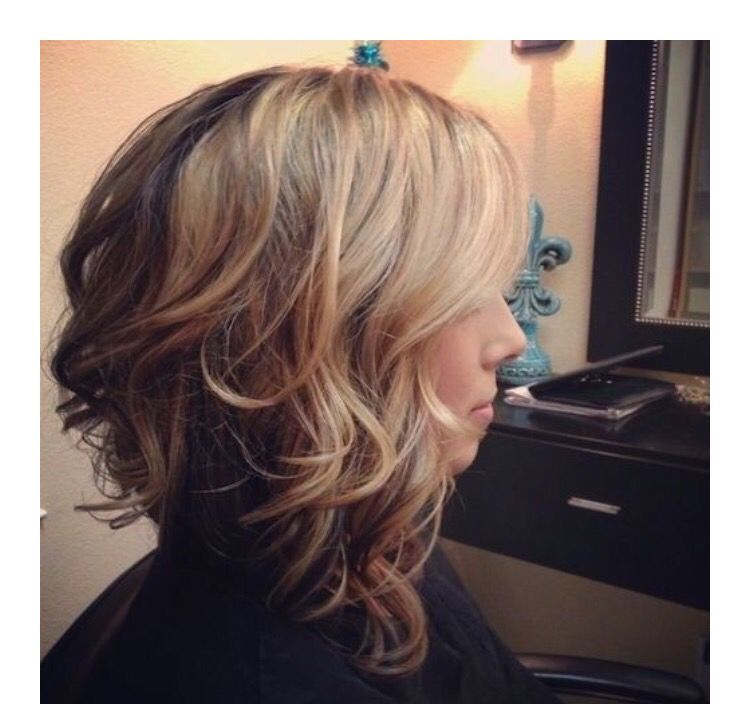 style haircuts for soft curl inverted bob my style inverted 4637