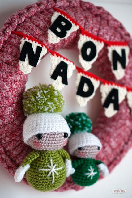 Grinch Wreath | Patrones de crochet de navidad, Crochet navidad ... | 641x427