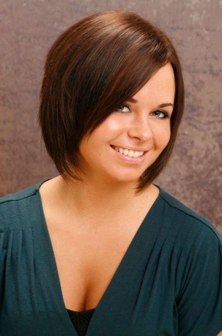 Best haircut for fat face womenus short hairstyles pinterest