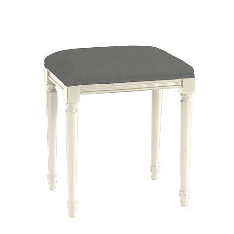 Lacquer Louis Stool