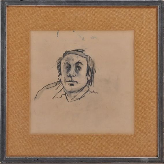 Larry Rivers, Self-Portrait