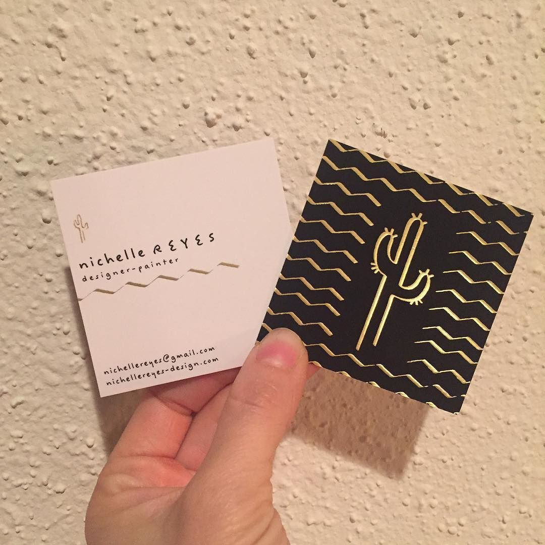 New Gold Foil Business Cards By Moo Nicereyes