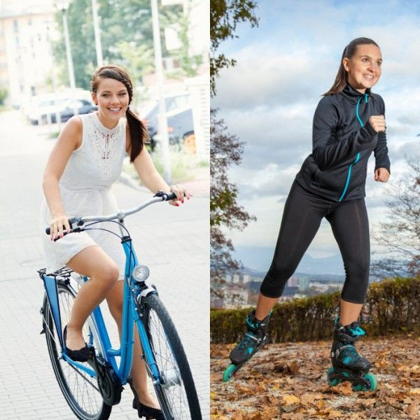 Biking Vs Inline Skating With Images Abs Workout Best