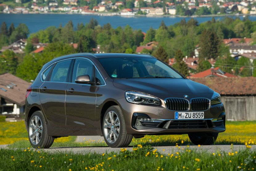 SPIED Next BMW 2 Series Active Tourer scooped during winter testing