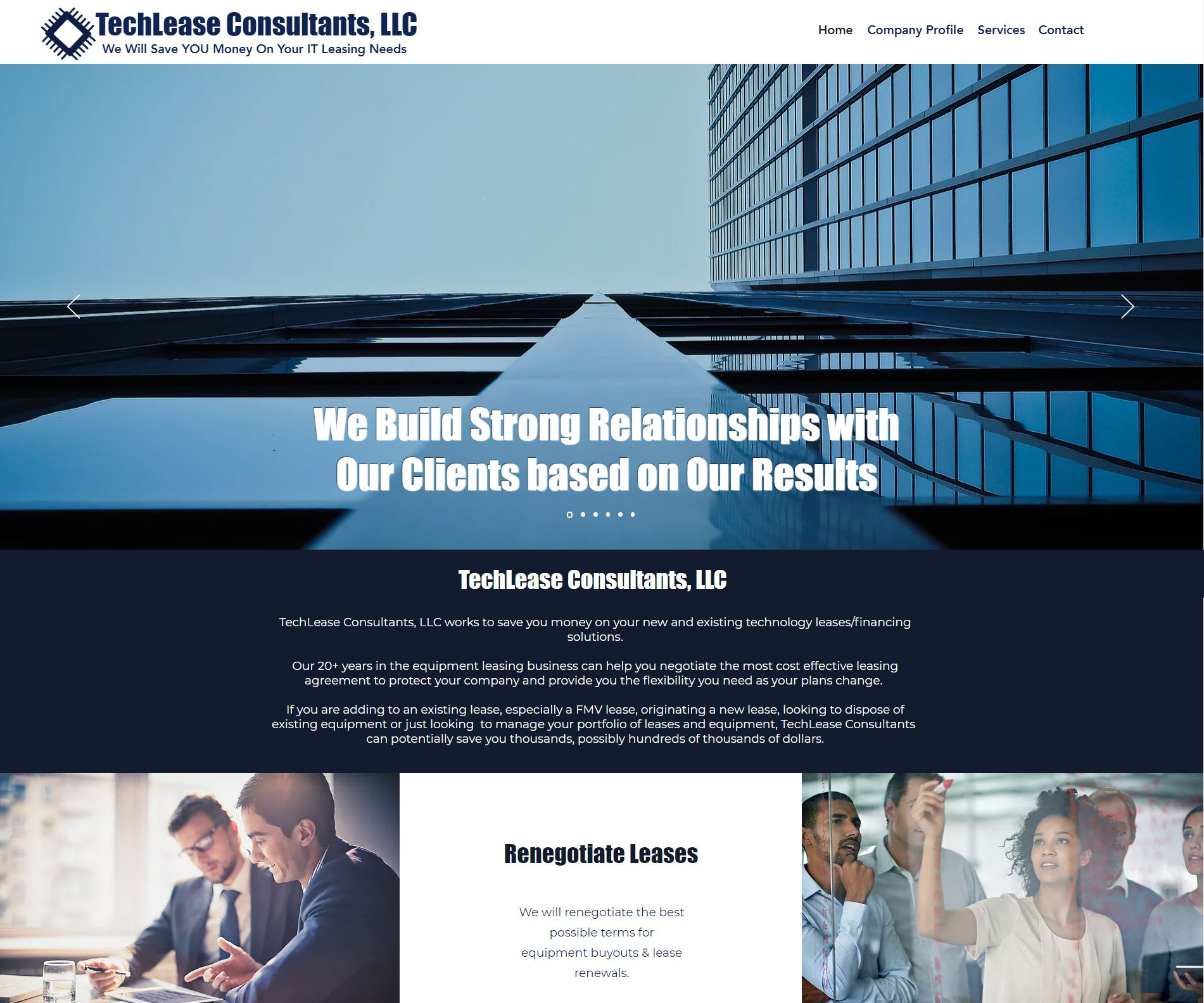 My Newest Website Design Launch Connecticut Company Techlease Consultants Llc Https Www T News Website Design Technology Solutions Small Business Marketing