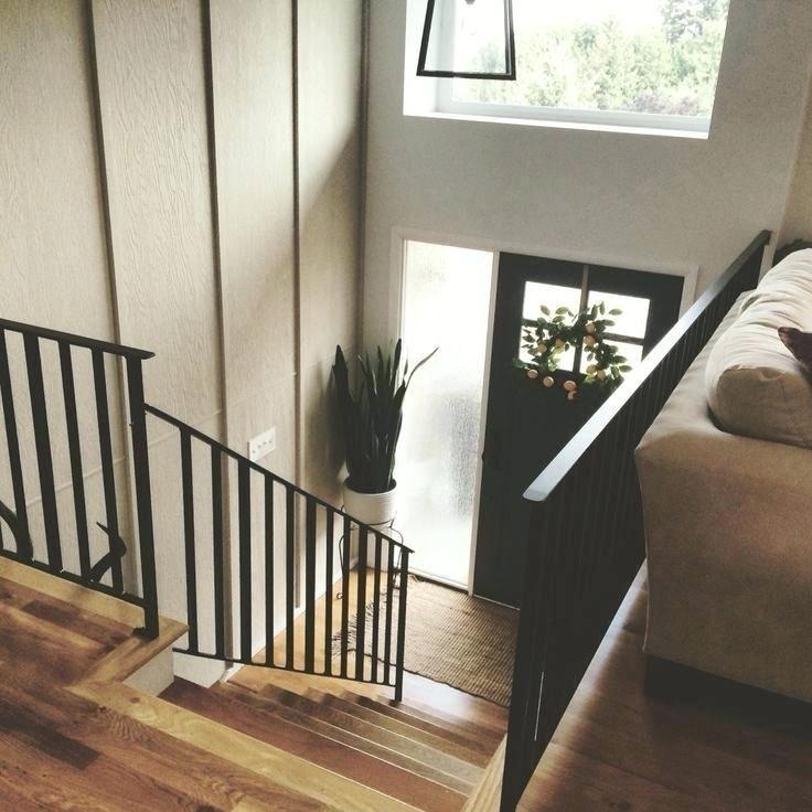 split level living room railing split level entryway ...