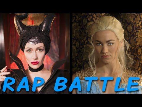 MALEFICENT vs DAENERYS: Princess Rap Battle (Yvonne Strahovski & Whitney Avalon) *explicit* - YouTube