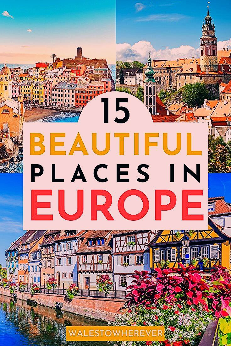 Photo of You Need to Add These Beautiful Places in Europe to Your Bucket List