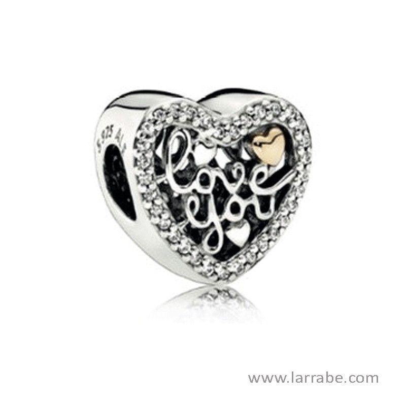c7e72ab95d71 Abalorio Pandora Amor Grabado de la nueva colección Pandora San ...