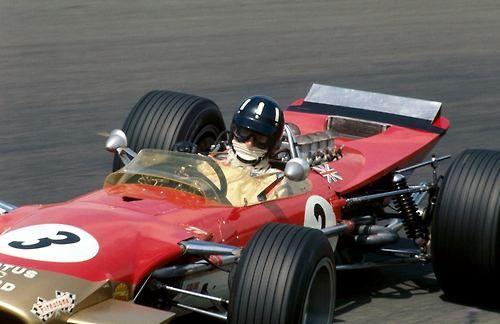 ♠ 1968 Formula 1 Dutch Grand Prix - Graham Hill (Lotus) #F1 #History #Motorsport