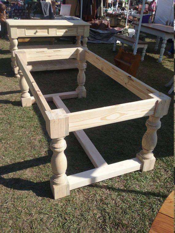 Genuine Hand Turned 17th Century Style Monestary Legs 5 X 5 X 29 Diy Dining Room Table Wood Table Diy Diy Farmhouse Table