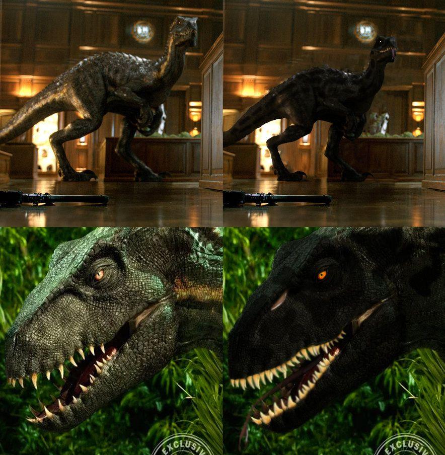 Indoraptor Photomanipulation (IDRGen 3) by kingrexy (With