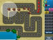 The fourth version of Bloons Tower Defense is coming. Why dont you enjoy it right now and help your lovely monkey destroy all of the balloons kids? Come to play Bloons Tower Defense 4 and go to the monkey world to help him now.