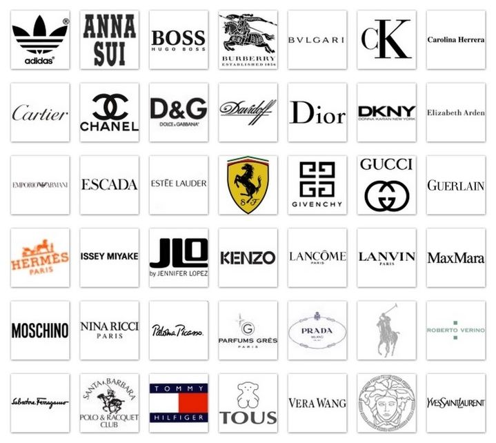 Perfume brands logos perfume and cream research for International decor brands