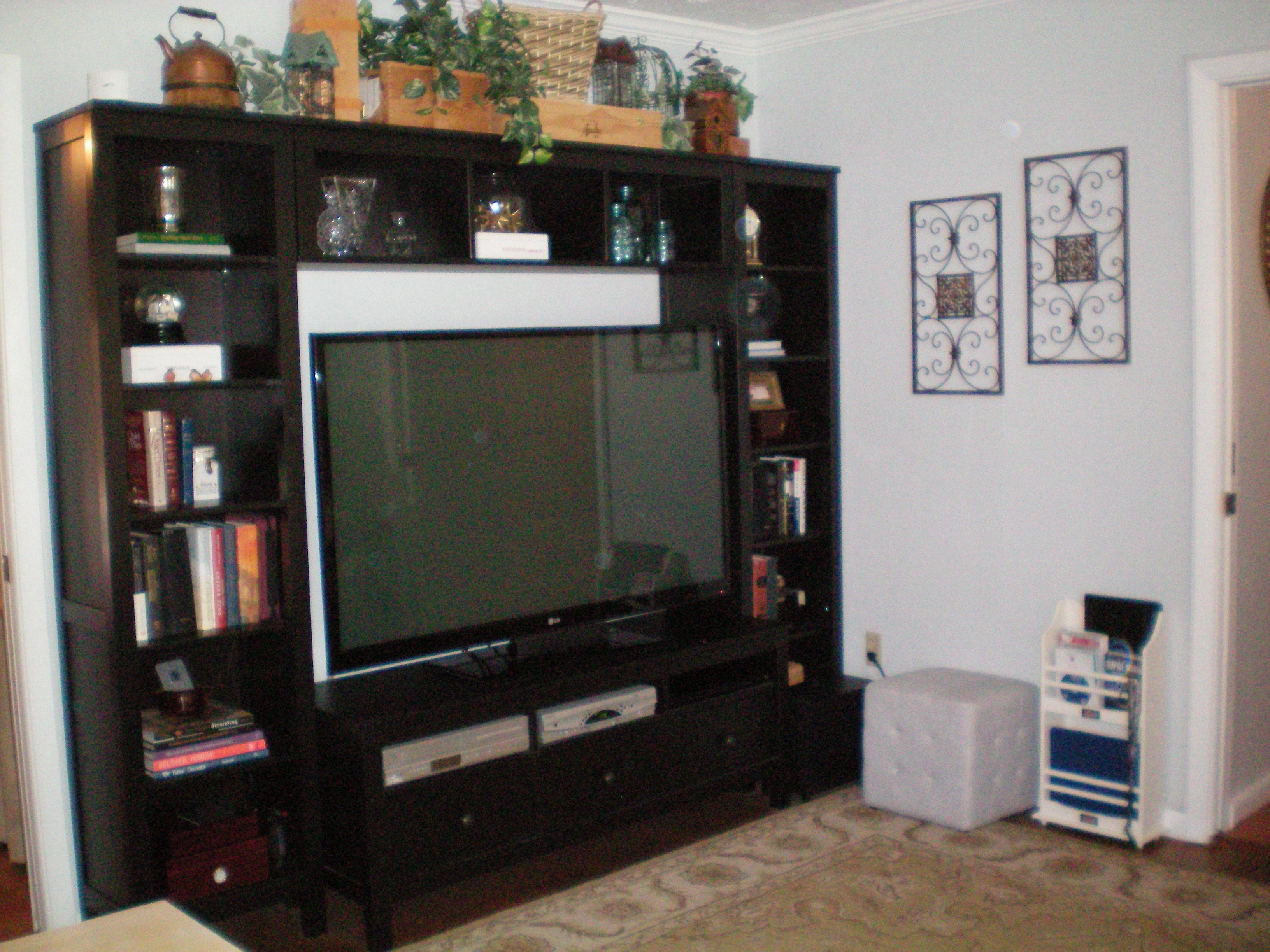 Hemnes Entertainment Center from Ikea Living Room Ideas& Inspirati u2026