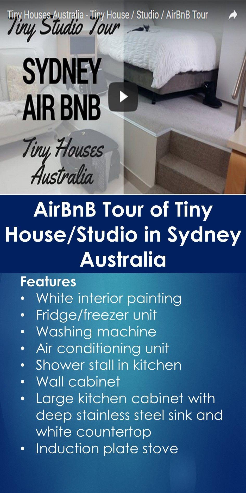 Airbnb Tour Of Tiny House Studio In Sydney Australia