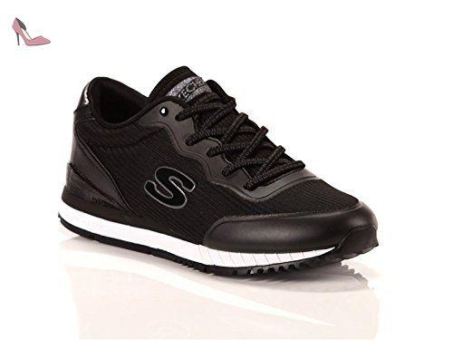 Performance Go Run 400, Chaussures Multisport Outdoor Homme, Noir (Black), 45 EUSkechers