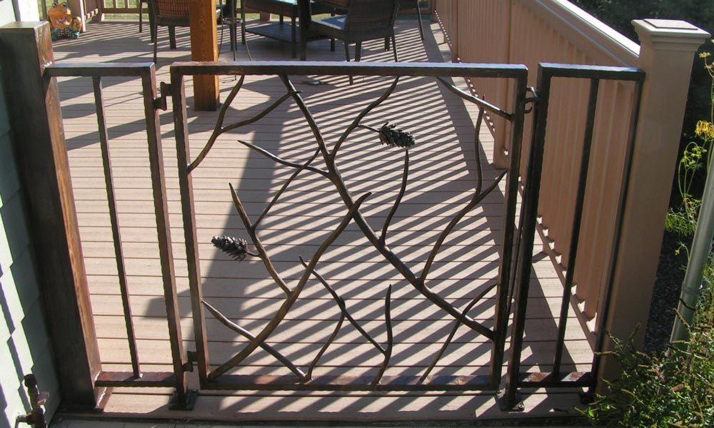 Superb Pinecone Gate
