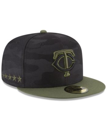 separation shoes ee0be 61ca4 New Era Minnesota Twins Memorial Day 59FIFTY Fitted Cap - Green 7