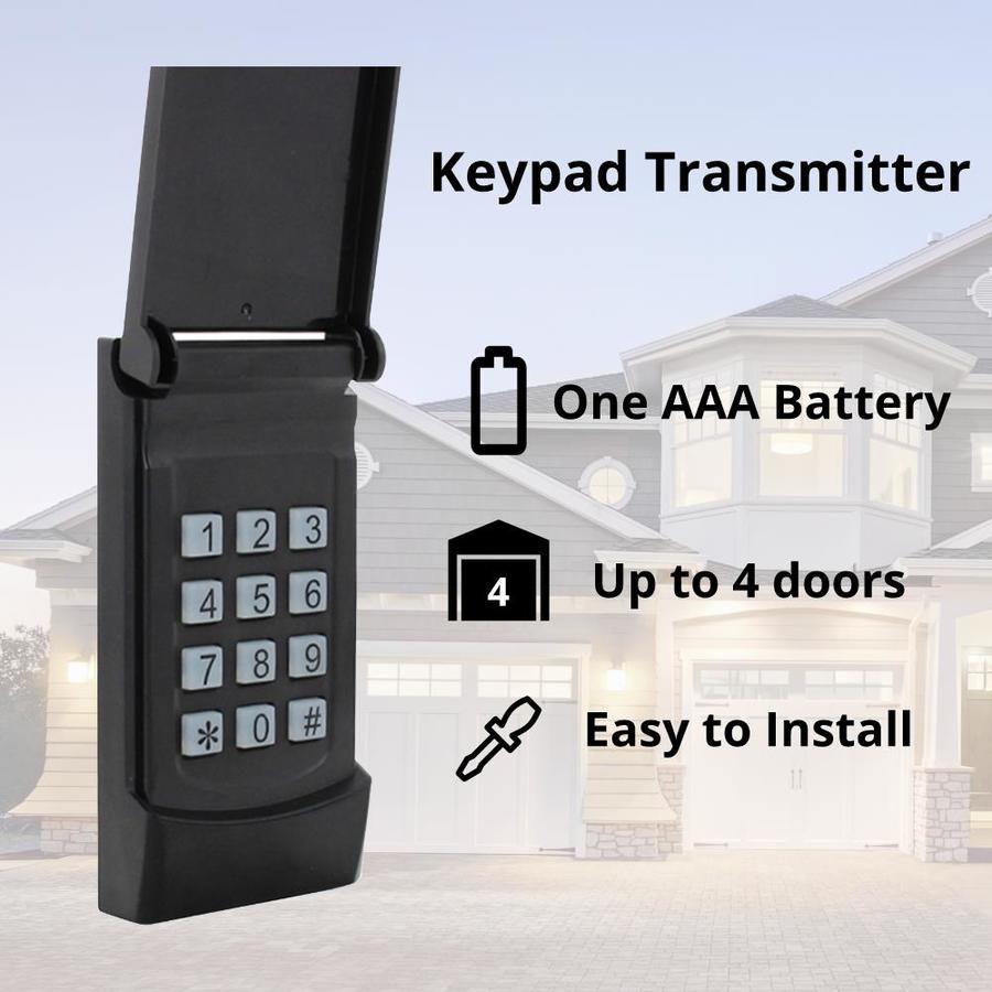 Skylink Wireless Rolling Code Garage Door Opener Keypad Kn 318 Garage Doors Garage Door Opener Installation Garage Door Weather Seal