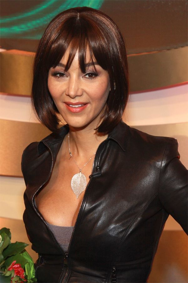 Verona Pooth Premiere Of The Musical Kein Pardon Leather