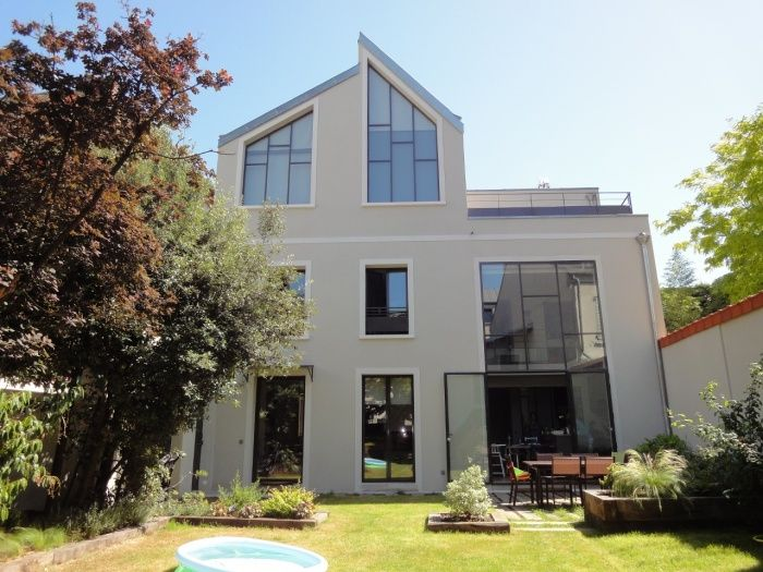 Lovely Extension Et Surélévation Du0027une Maison De Ville Par Camille Lescot   France