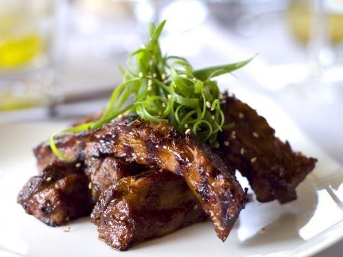 Recipe: Honey Garlic Ribs...minus the brown sugar - for crock pot pulled pork
