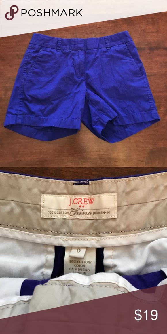 Jcrew Chino Shorts Worn once! J. Crew Shorts