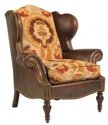 Bastille Wing Chair, Taylor King