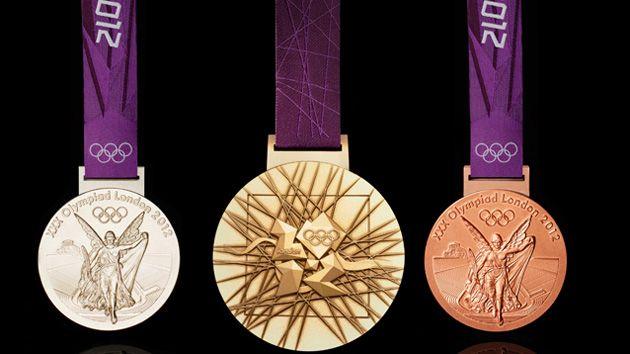 London 2012 Olympics 金銀銅メダル