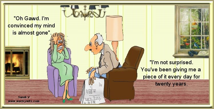 Getting Old Together Quotes: Funny Cartoons About Getting Old