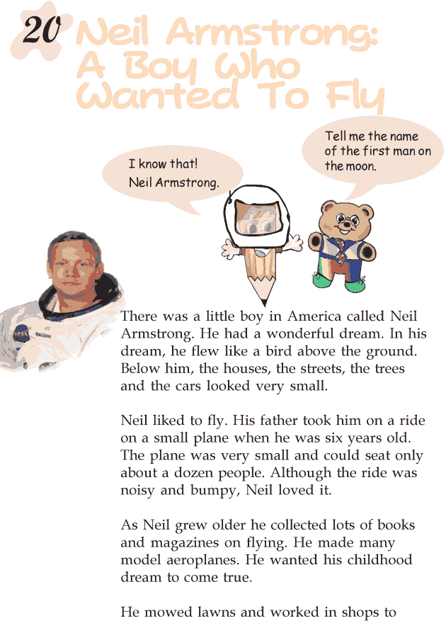 Grade 2 Reading Lesson 20 Biography – Neil Armstrong: A ...