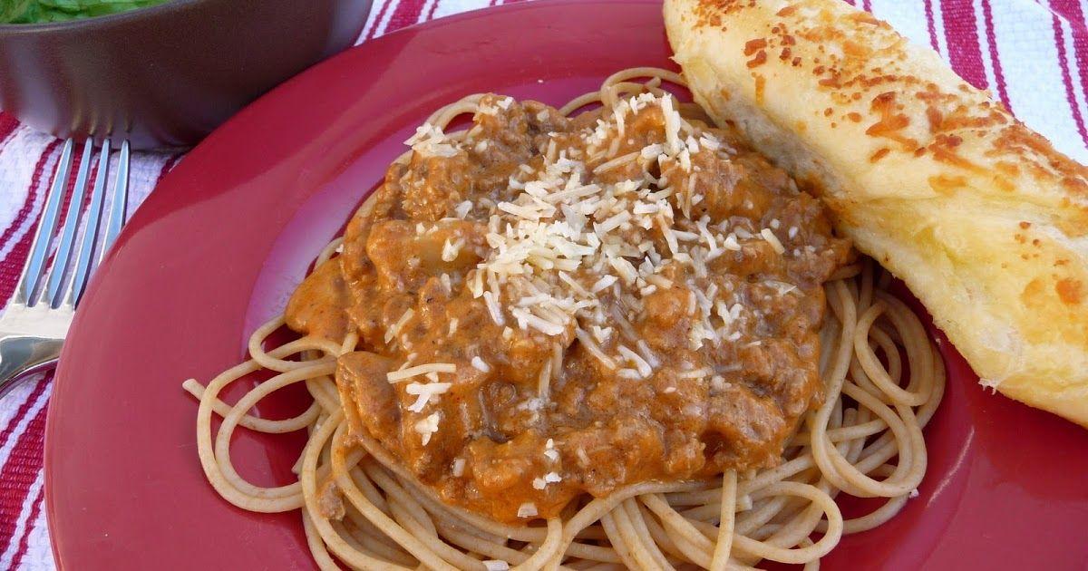 Mom's Irish Spaghetti Sauce Unique spaghetti recipe