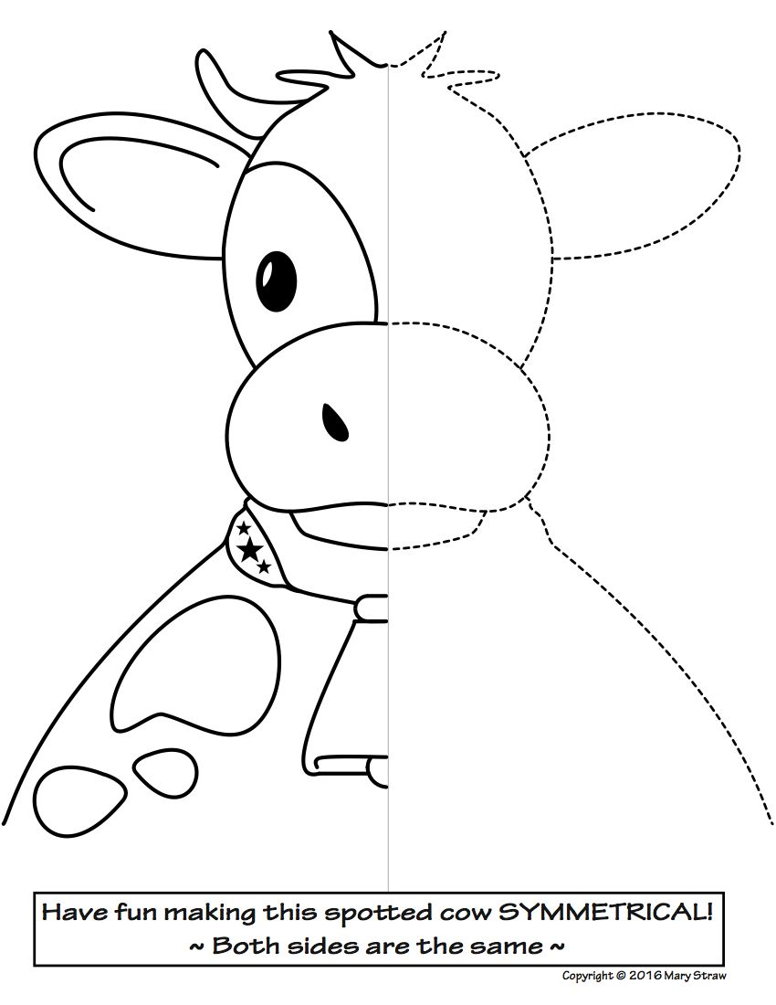 Uncategorized Animal Symmetry Worksheet art enrichment everyday april activity coloring pages farming 20 awesome activities your kids will love symmetry farm animals spring art
