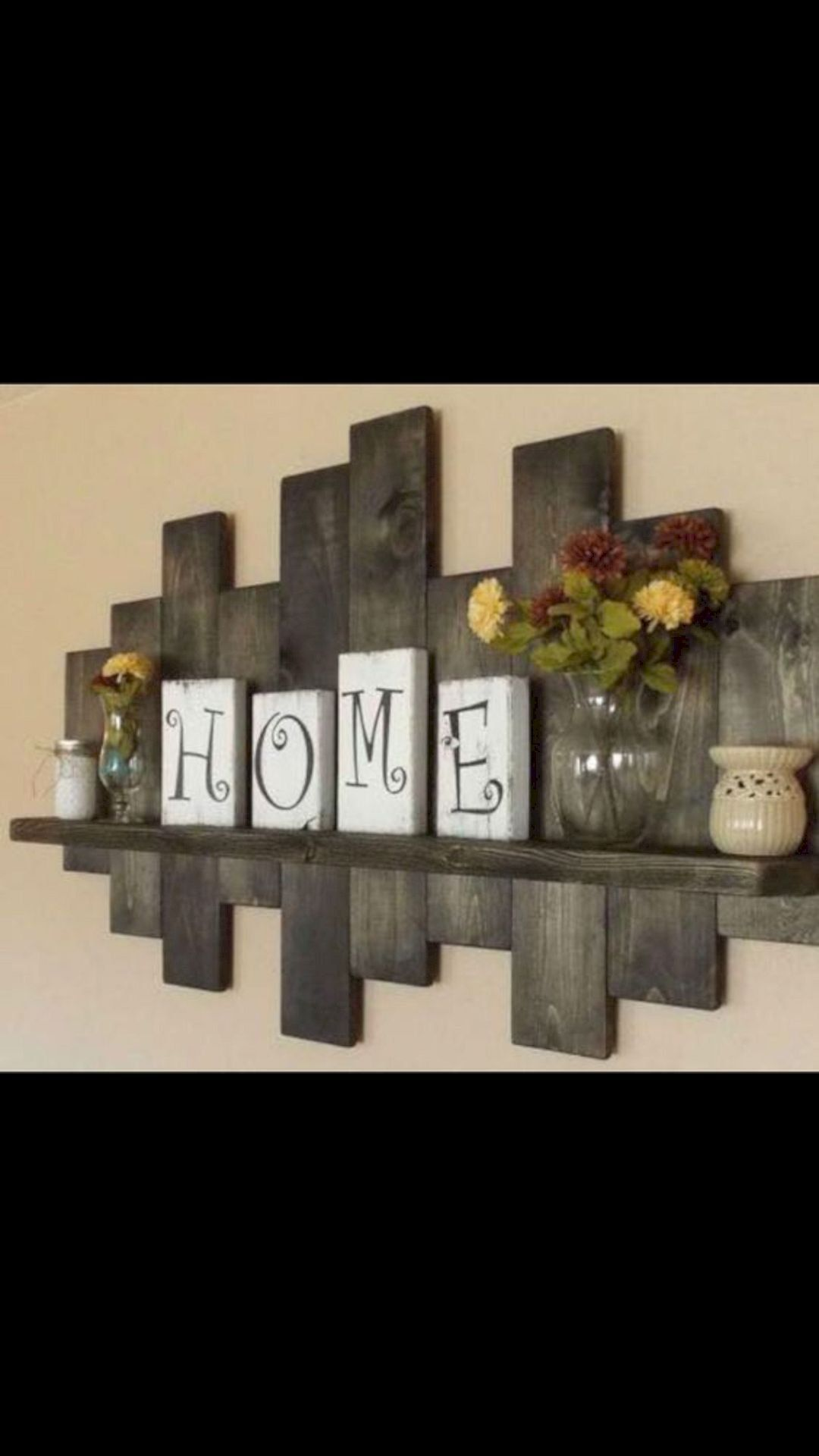 16 Enticing Wall Decorating Ideas For Your Living Room Pallet Wall Decor Pallet Home Decor Diy Pallet Wall #pallet #wall #ideas #living #room