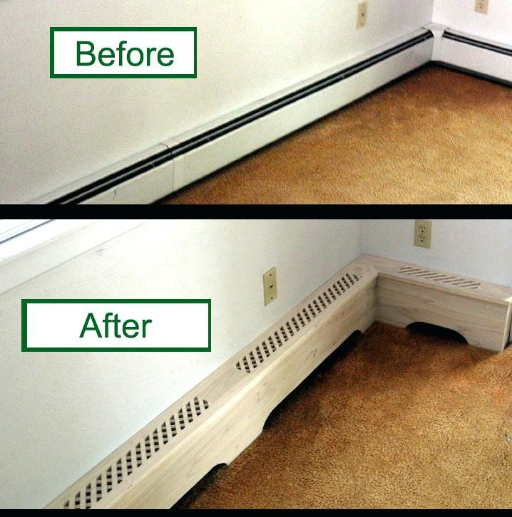 Baseboard Heater Coversbaseboard Radiator Covers Diy Plastic Baseboard Heater Covers Baseboard Heater Heater Cover
