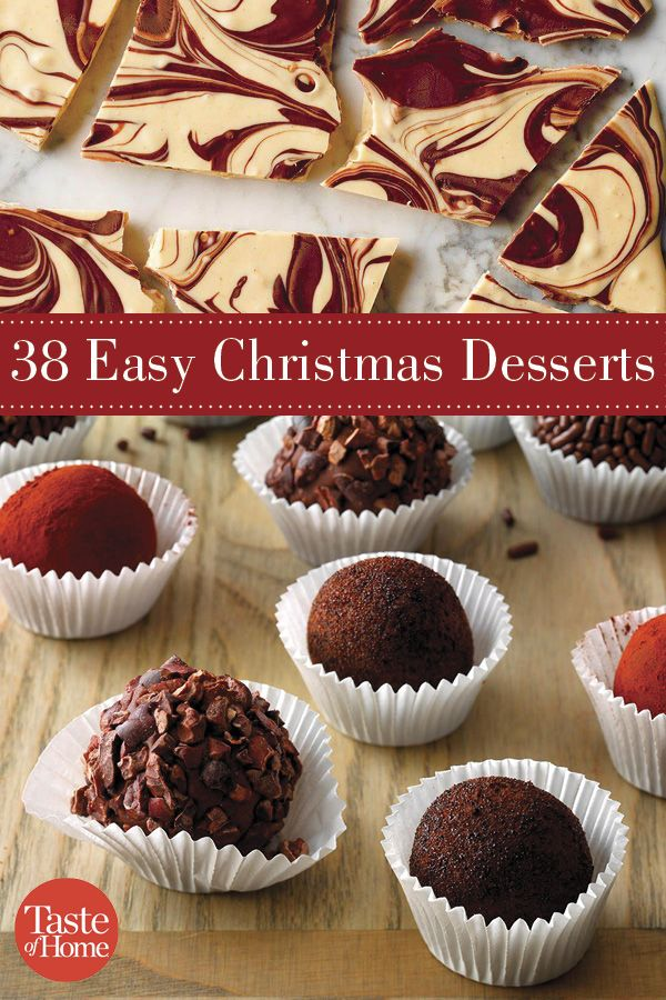 welcome the holiday season with these super simple christmas desserts from home cooks like you