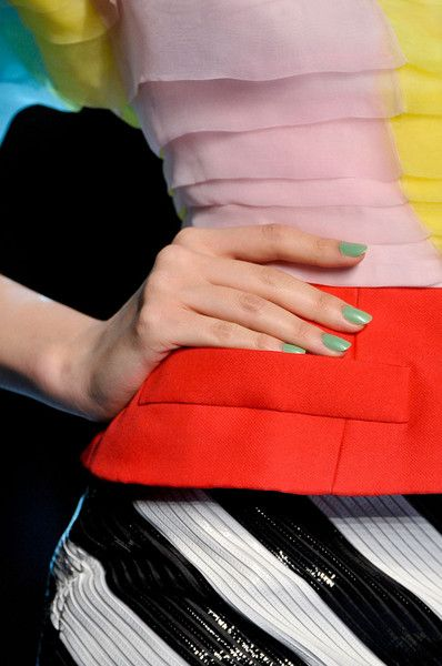 Christian Dior Stripes & color burst!