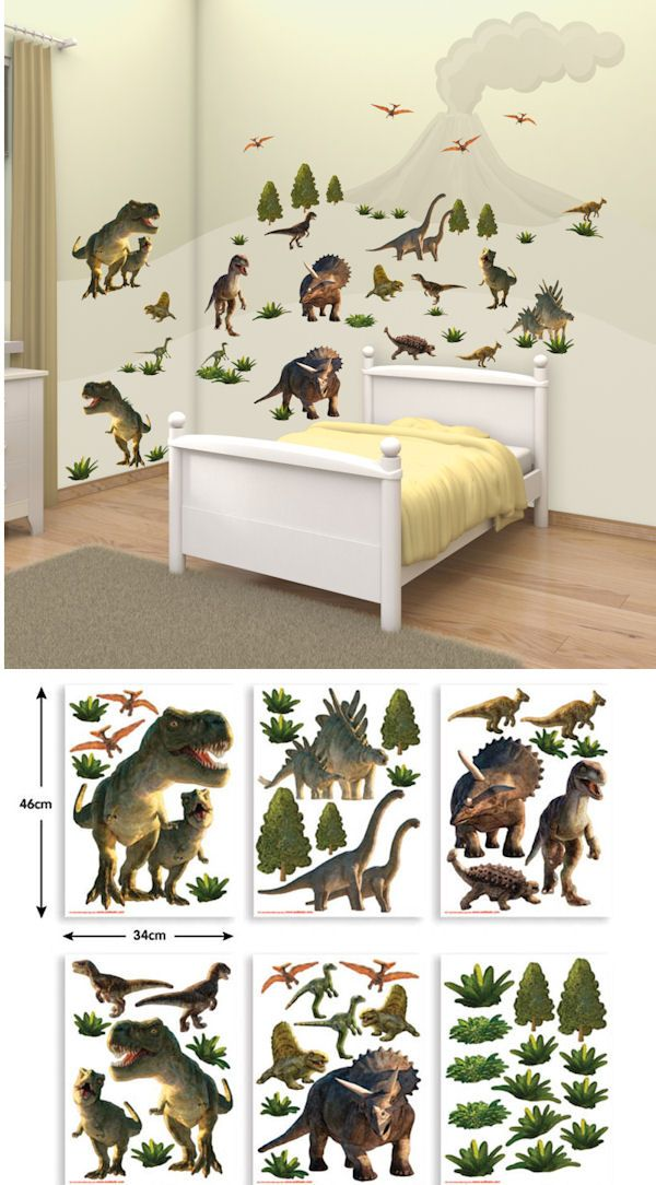 Dinosaur Land Wall Decal Kit   Wall Sticker Outlet