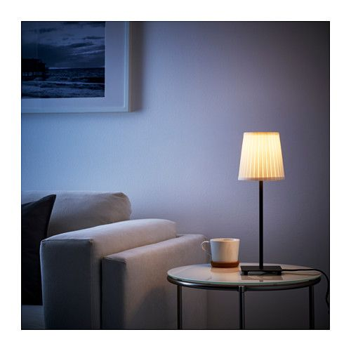 Hemma table lamp base with led bulb black table lamp base lamp hemma table lamp base with led bulb ikea mozeypictures Image collections