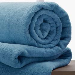 Manta King Size Corttex Home Design Azul Índigo